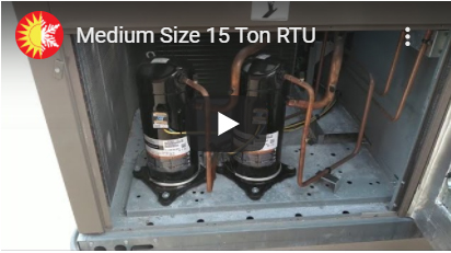 Your Commercial RTU (Packaged Rooftop Unit)